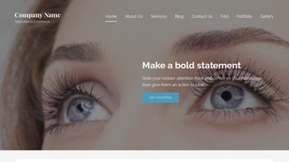 Lyrical Eyelash Treatment WordPress Theme