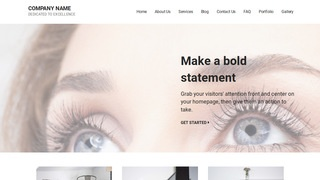 Mins Eyelash Treatment WordPress Theme