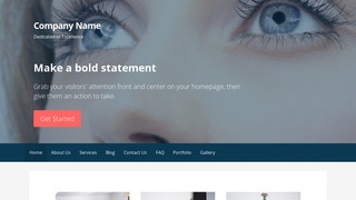 Primer Eyelash Treatment WordPress Theme