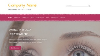 Scribbles Eyelash Treatment WordPress Theme