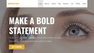 Stout Eyelash Treatment WordPress Theme
