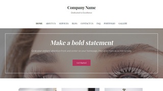 Uptown Style Eyelash Treatment WordPress Theme