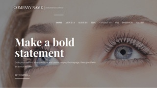 Velux Eyelash Treatment WordPress Theme