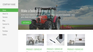 Escapade Farm Equipment and Supplies WordPress Theme