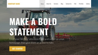 Stout Farm Equipment and Supplies WordPress Theme
