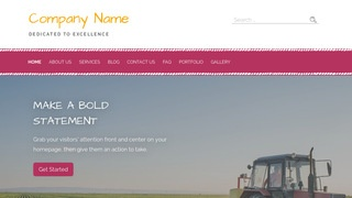 Scribbles Farm WordPress Theme
