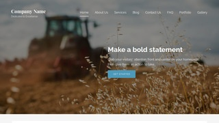 Lyrical Farming Service WordPress Theme