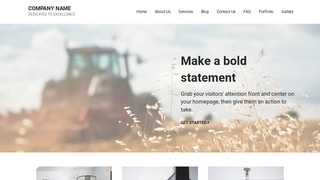 Mins Farming Service WordPress Theme