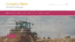 Scribbles Farming Service WordPress Theme