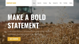 Stout Farming Service WordPress Theme