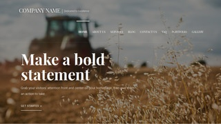 Velux Farming Service WordPress Theme