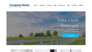 Ascension Fence Builder WordPress Theme