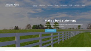 Lyrical Fence Builder WordPress Theme