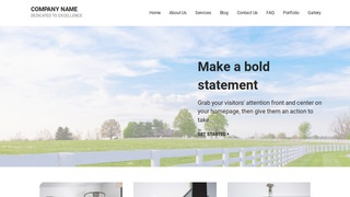 Mins Fence Builder WordPress Theme