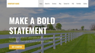 Stout Fence Builder WordPress Theme