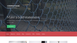 Activation Fence Supplies WordPress Theme