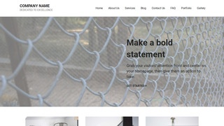 Mins Fence Supplies WordPress Theme