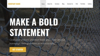 Stout Fence Supplies WordPress Theme