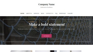 Uptown Style Fence Supplies WordPress Theme
