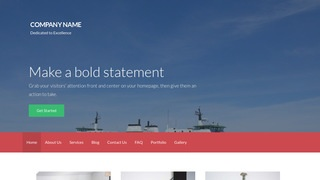 Activation Ferry Service WordPress Theme