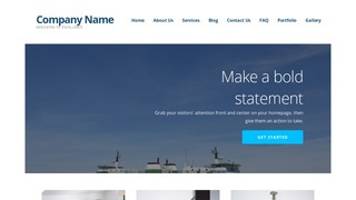 Ascension Ferry Service WordPress Theme
