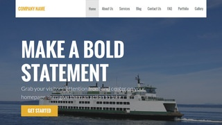 Stout Ferry Service WordPress Theme