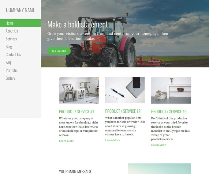 Escapade Fertilizer WordPress Theme