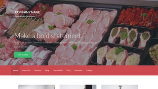 Activation Fish and Meat Market WordPress Theme