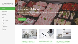 Escapade Fish and Meat Market WordPress Theme