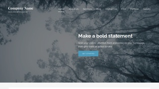 Lyrical Forestry Consultant WordPress Theme