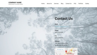 Mins Forestry Consultant WordPress Theme