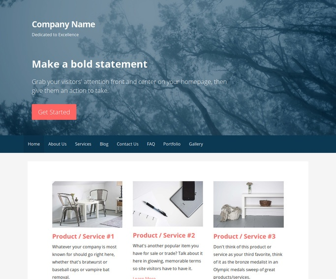 Primer Forestry Consultant WordPress Theme