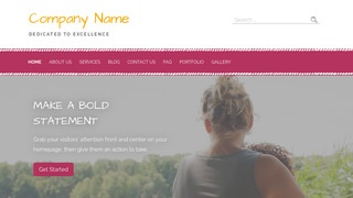 Scribbles Foster Care WordPress Theme