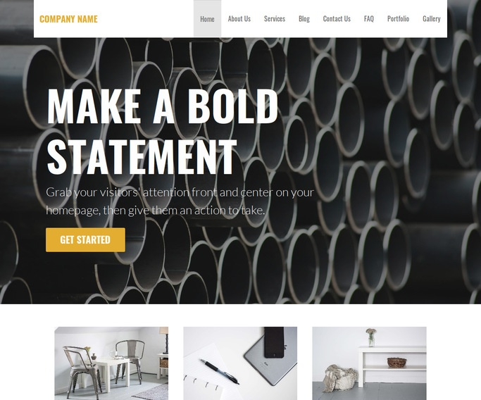 Stout Foundry WordPress Theme