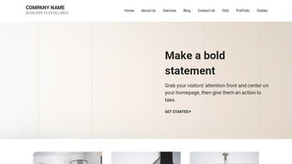 Mins Furniture Manufacturer WordPress Theme