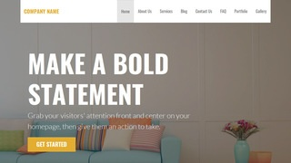 Stout Furniture Manufacturer WordPress Theme