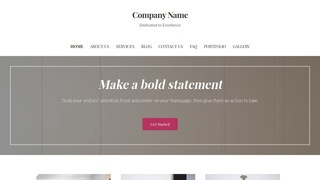 Uptown Style Furniture Manufacturer WordPress Theme