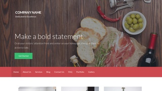 Activation Specialty Food WordPress Theme