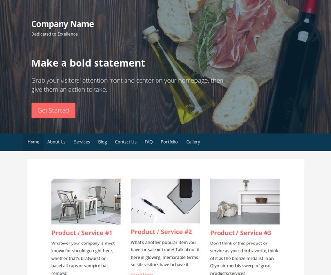 Primer Gourmet Grocery Store WordPress Theme