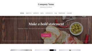 Uptown Style Gourmet Grocery Store WordPress Theme