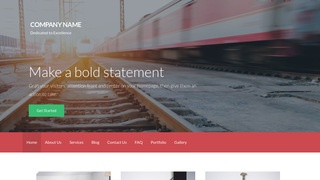 Activation Ground Transportation WordPress Theme