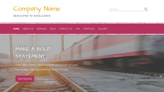 Scribbles Ground Transportation WordPress Theme