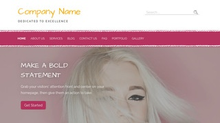 Scribbles Hair Supply Store WordPress Theme