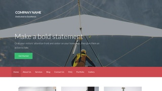 Activation Hang Gliding WordPress Theme