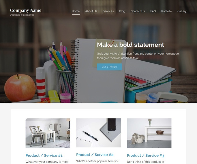 Lyrical Head Start Center WordPress Theme