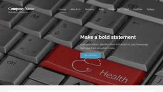 Lyrical Health Consultant WordPress Theme