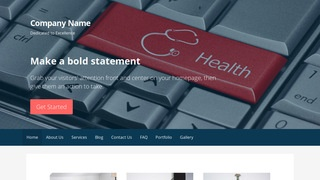 Primer Health Consultant WordPress Theme