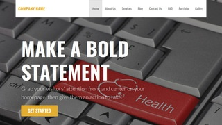 Stout Health Consultant WordPress Theme