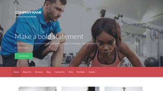 Activation Personal Trainer WordPress Theme