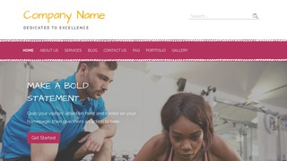 Scribbles Personal Trainer WordPress Theme